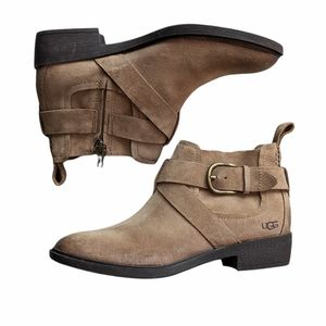 UGG Wylma leather Boots size 8 1/2 NWOT New